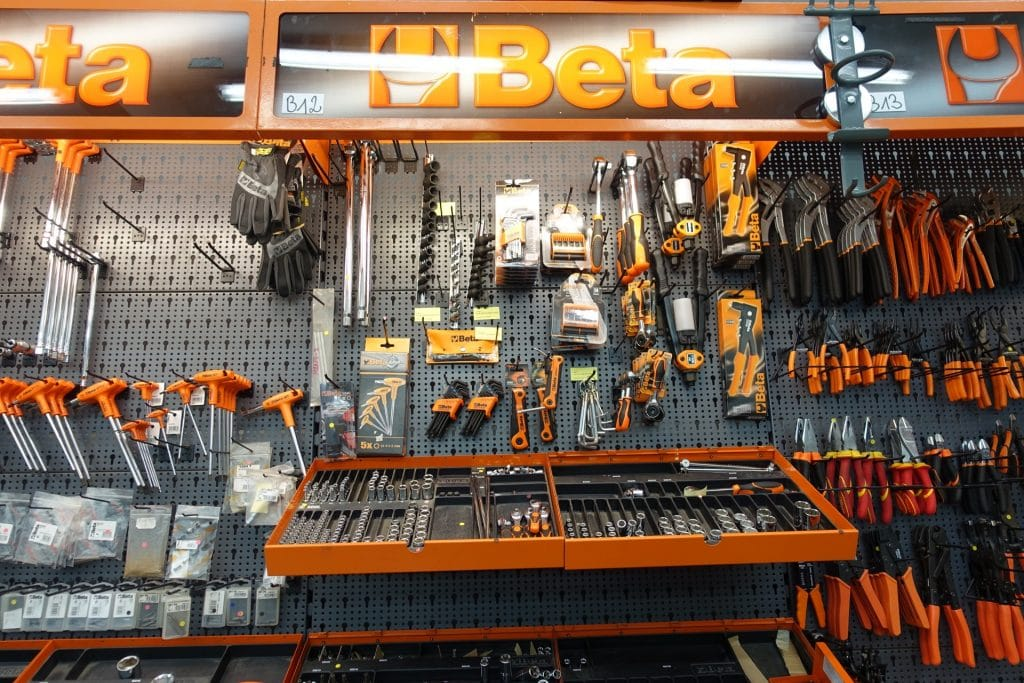 outils beta 7